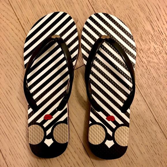 779c0f2e1914 Alice + Olivia Eva Rubber Striped Flip Flop